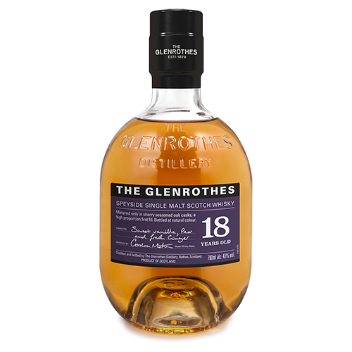 The Glenrothes 18 Year Old Single Malt Scotch Whisky, Speyside, Scotland 格蘭路思18年