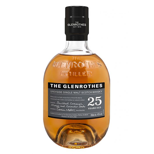 The Glenrothes 25 Year Old Single Malt Scotch Whisky, Speyside, Scotland 格蘭路思25年