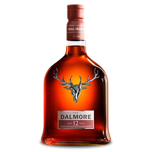The Dalmore 12 Year Old Single Malt Scotch Whisky, Highlands, Scotland 大摩12年
