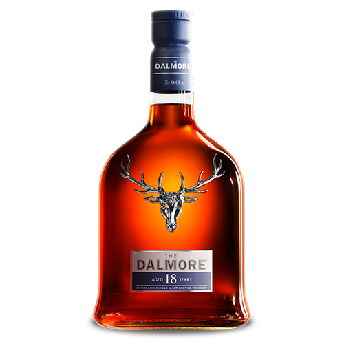 The Dalmore 18 Year Old Single Malt Scotch Whisky, Highlands, Scotland 大摩18年